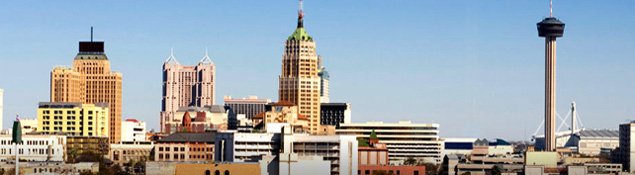 photo of downtown san antonio skyline