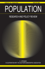 Population Research and Policy Review Journal Image