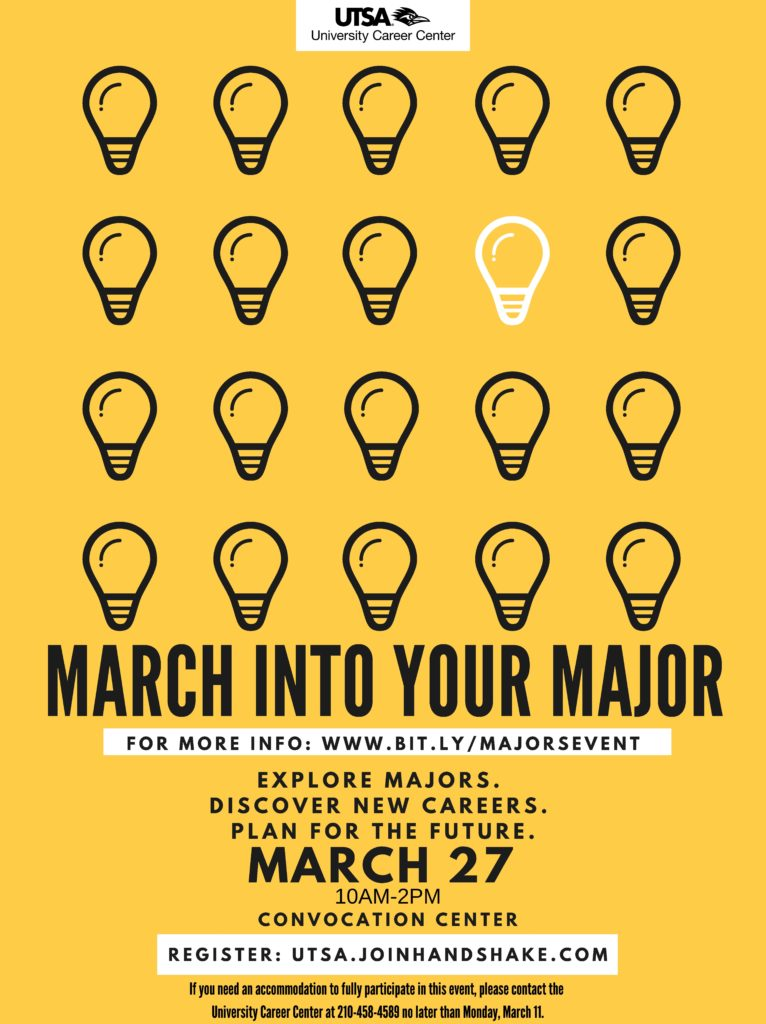March into your major