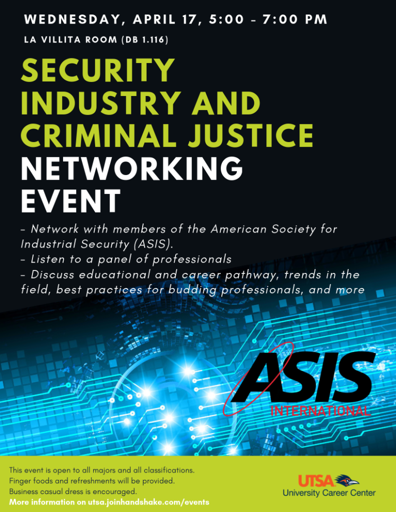 ASIS networking event